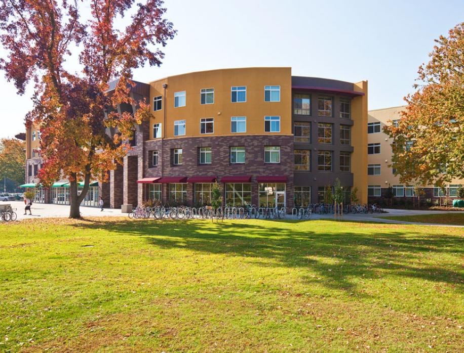 American River Courtyard At Sacramento State